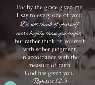 Grace Romans 12-3
